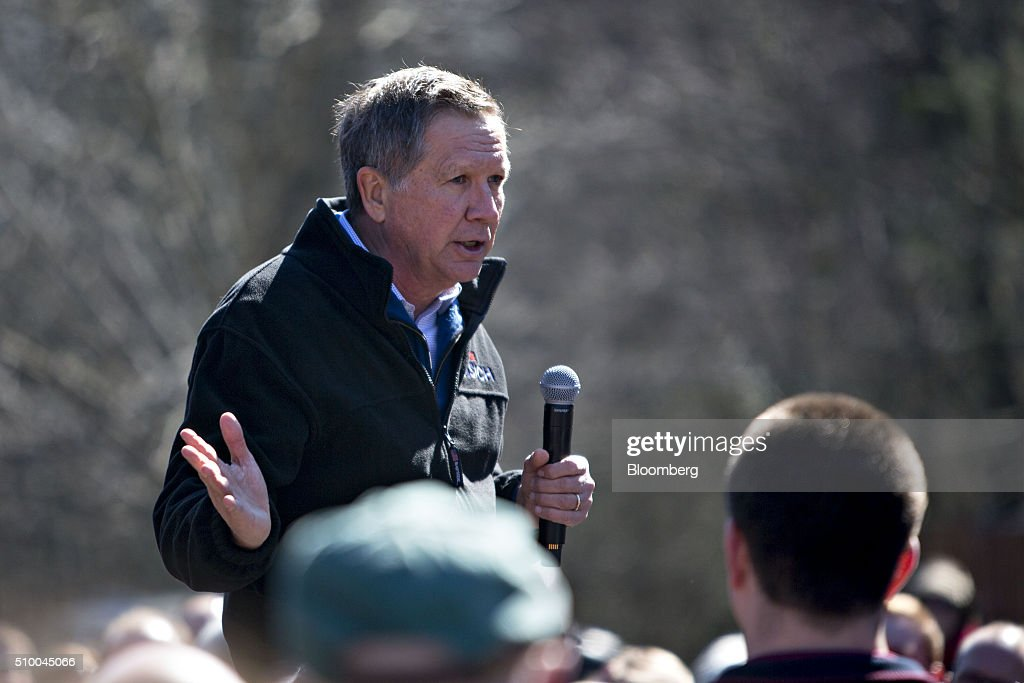 Presidential Candidate John Kasich Holds South Carolina ...