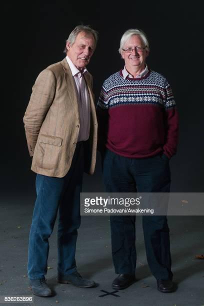 John Keay and Craig Murray attend a photocall during the Edinburgh International Book Festival on August 21 2017 in Edinburgh Scotland