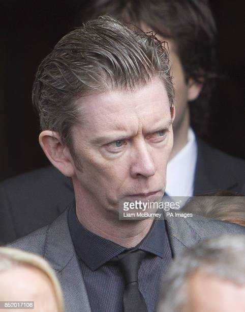 John Kelly after the funeral of the Nobel Laureate poet Seamus Heaney at the Church of the Scared Heart in Donnybrook Dublin