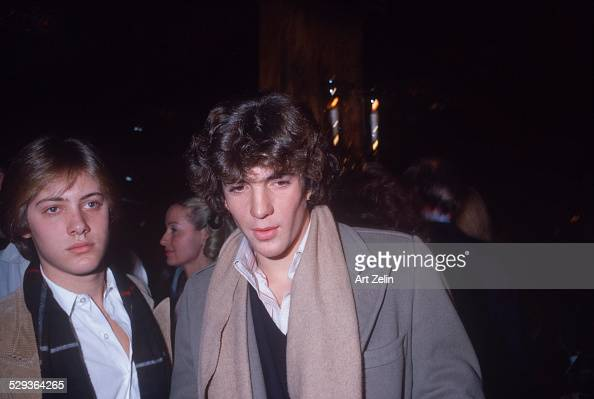 John Kennedy Jr and James Spader circa 1970 New York