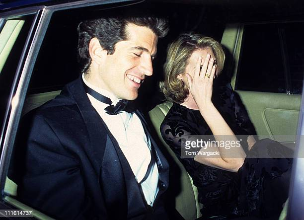 John Kennedy Jr during John Kennedy Jr at American Ballet Theatre's Spring Gala Dedicated to the Late Jackie Onassis at American Ballet Theatre in...
