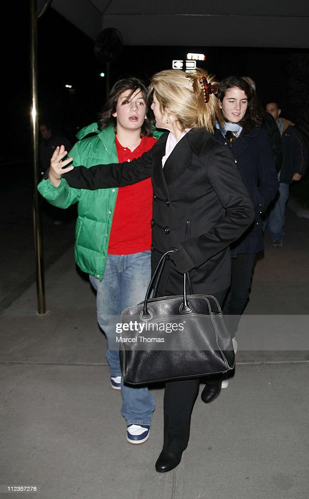 Caroline Kennedy Schlossberg and Family Sighting In New York City