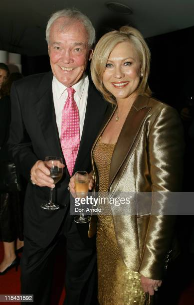 John Kennerley and KerriAnne Kennerley during Jackie Collins Book Signing in Sydney May 1 2007 at The Summit Restaurant in Sydney NSW Australia