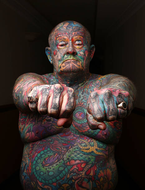 Australian man covered in tattoos now warns of the dangers for Tattoos and hepatitis