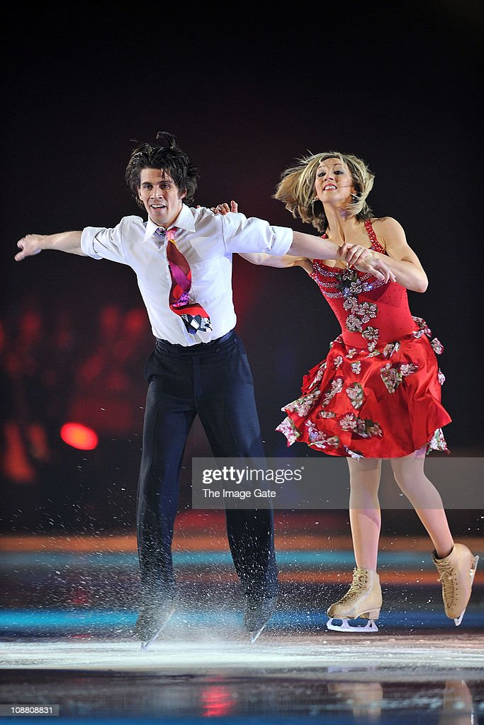 Art On Ice With Donna Summer And Katherine Jenkins