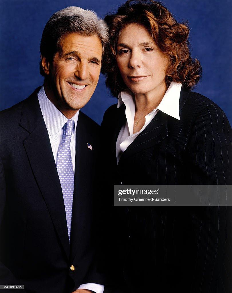 John Kerry and Teresa Heinz