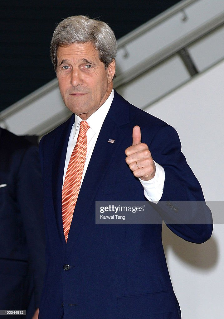 <a gi-track='captionPersonalityLinkClicked' href=/galleries/search?phrase=John+Kerry&family=editorial&specificpeople=154885 ng-click='$event.stopPropagation()'>John Kerry</a> attends the Global Summit to end Sexual Violence in Conflict at ExCel on June 13, 2014 in London, England.