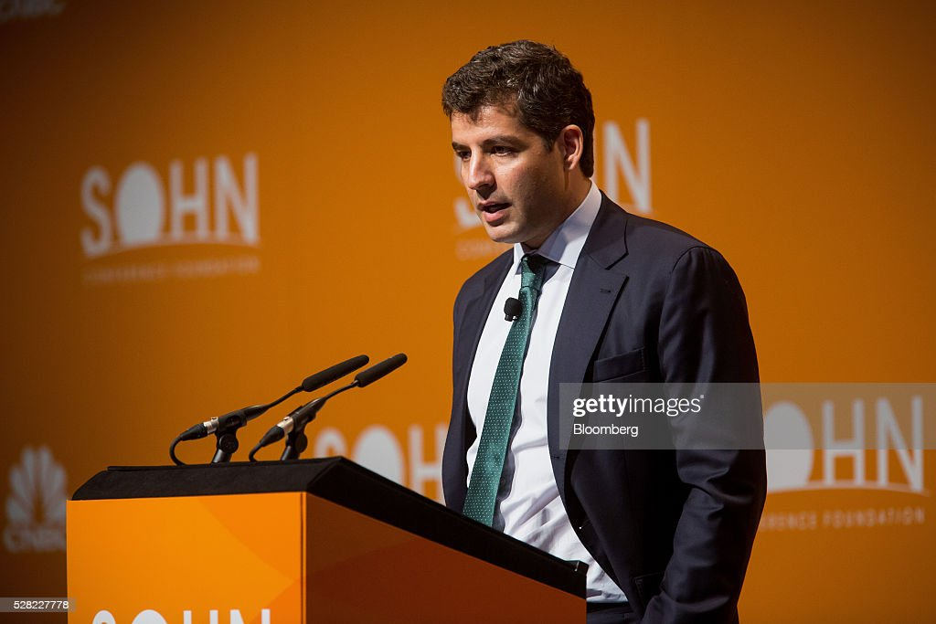 John Khoury, founder and managing partner of Long Pond Capital LP, speaks during the 21st annual Sohn Investment Conference in New York, U.S., on Wednesday, May 4, 2015. Since 1996 the Sohn Investment Conference has brought together the world's savviest investors to share fresh insights and strategies in support of pediatric cancer research and treatment. Photographer: Michael Nagle/Bloomberg via Getty Images