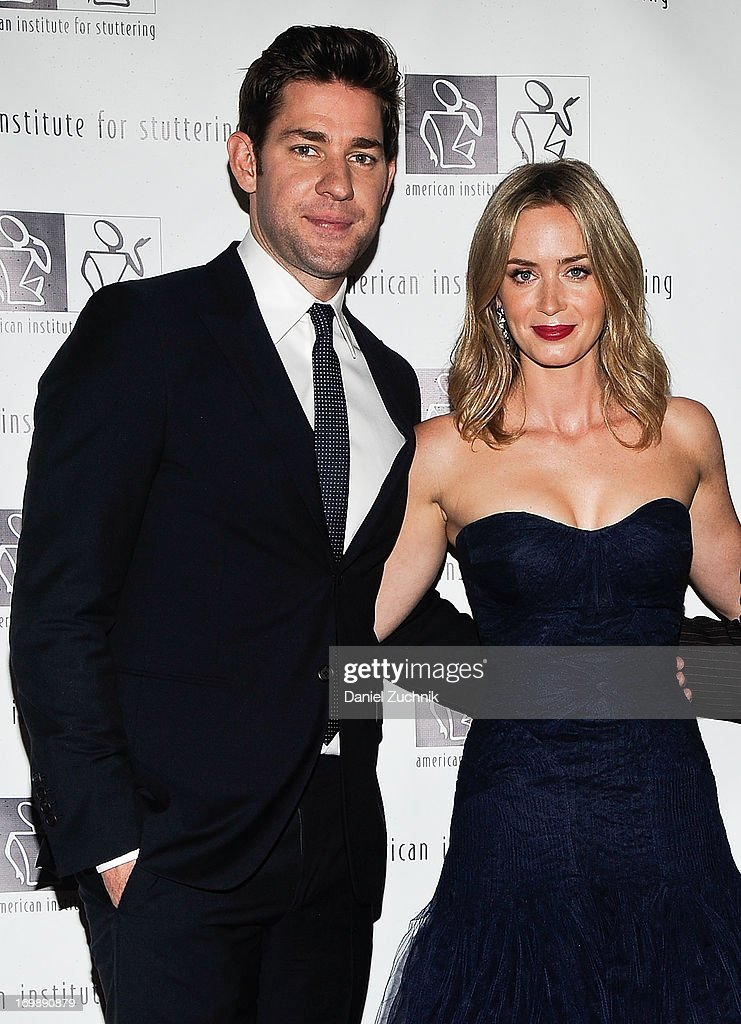 <a gi-track='captionPersonalityLinkClicked' href=/galleries/search?phrase=John+Krasinski&family=editorial&specificpeople=646194 ng-click='$event.stopPropagation()'>John Krasinski</a> and <a gi-track='captionPersonalityLinkClicked' href=/galleries/search?phrase=Emily+Blunt&family=editorial&specificpeople=213480 ng-click='$event.stopPropagation()'>Emily Blunt</a> attend the 7th Annual 'Freeing Voices, Changing Lives' Benefit Gala at Tribeca Rooftop on June 3, 2013 in New York City.