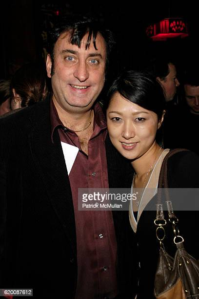 John Krondes and Saeko Shimda attend Ecco Domani Fashion Foundation After Party at Suzie Wongs on February 8 2008 in New York City