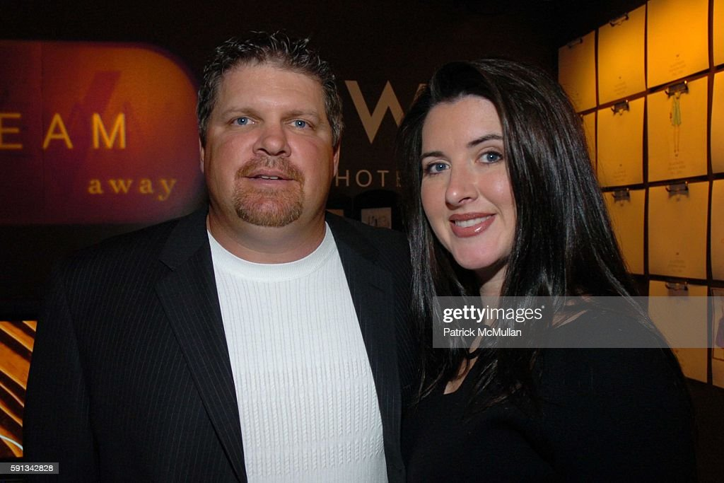 John Kruk and Melissa Kruk attend Heatherette Fall 2005 Fashion Show at The Plaza at Bryant Park on February 4, 2005 in New York City.