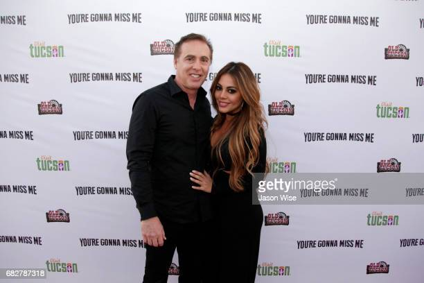 John Kuelbs and Ivania Rodigues attend 'You're Gonna Miss Me' premiere sponsored by Visit Tucson on May 13 2017 in Tucson Arizona