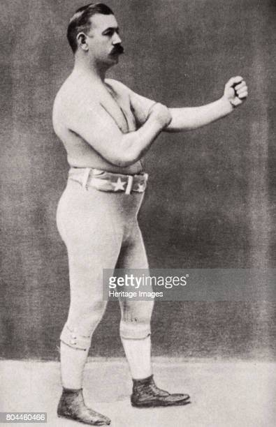 John L Sullivan American boxer c1898 Born in Boston Massachusetts in 1858 John L Sullivan is regarded as the first world heavyweight champion He held...