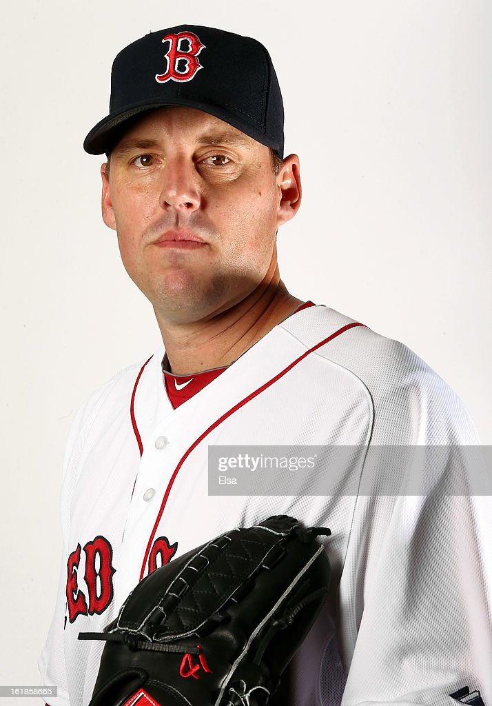<a gi-track='captionPersonalityLinkClicked' href=/galleries/search?phrase=John+Lackey&family=editorial&specificpeople=171533 ng-click='$event.stopPropagation()'>John Lackey</a> #41 of the Boston Red Sox poses for a portrait on February 17, 2013 at JetBlue Park at Fenway South in Fort Myers, Florida.