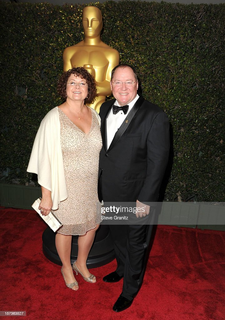 John Lasseter arrives at the The Academy Of Motion Pictures Arts And Sciences' Governors Awards at The Ray Dolby Ballroom at Hollywood & Highland Center on December 1, 2012 in Hollywood, California.