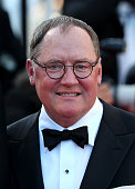 John Lasseter attends the 'Inside Out' premiere during the 68th annual Cannes Film Festival on May 18 2015 in Cannes France