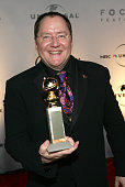 John Lasseter during Focus Features and Universal's 2007 Golden Globe After Party Arrivals at Beverly Hilton in Los Angeles California United States