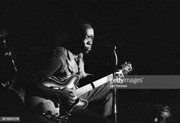 John Lee Hooker performing at Club Revolution Copenhagen Denmark June 1969