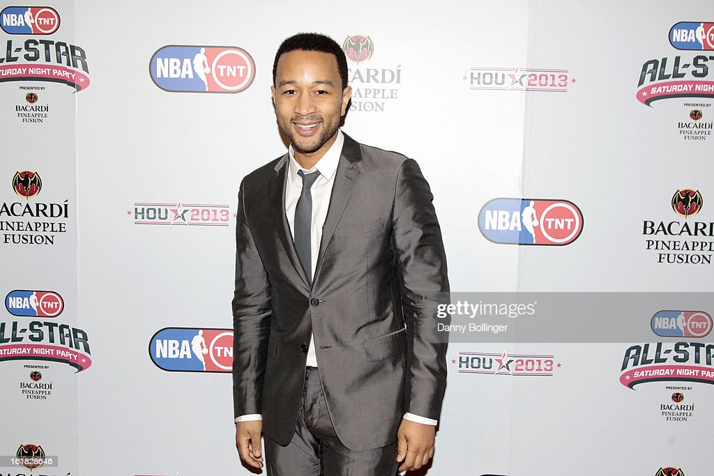 <a gi-track='captionPersonalityLinkClicked' href=/galleries/search?phrase=John+Legend&family=editorial&specificpeople=201468 ng-click='$event.stopPropagation()'>John Legend</a> at the NBA on TNT All-Star Saturday Night Party, Presented by Bacardi Pineapple Fusion at House Of Blues on February 16, 2013 in Houston, Texas.