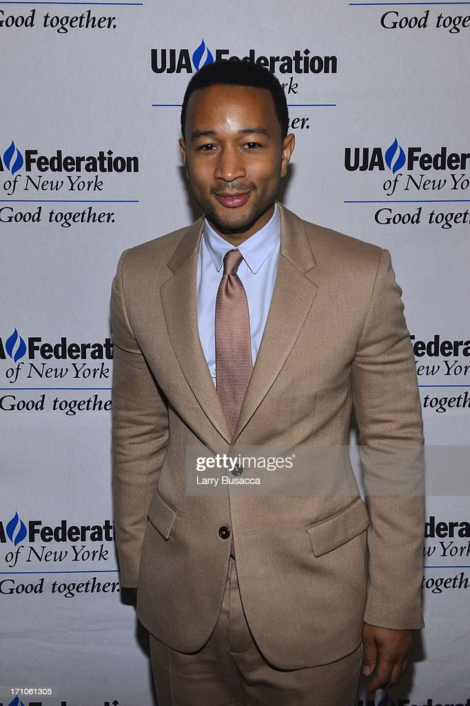 <a gi-track='captionPersonalityLinkClicked' href=/galleries/search?phrase=John+Legend&family=editorial&specificpeople=201468 ng-click='$event.stopPropagation()'>John Legend</a> attends a luncheon honoring Rob Stringer as UJA-Federation of New York Music Visionary of 2013 at The Pierre Hotel on June 21, 2013 in New York City.