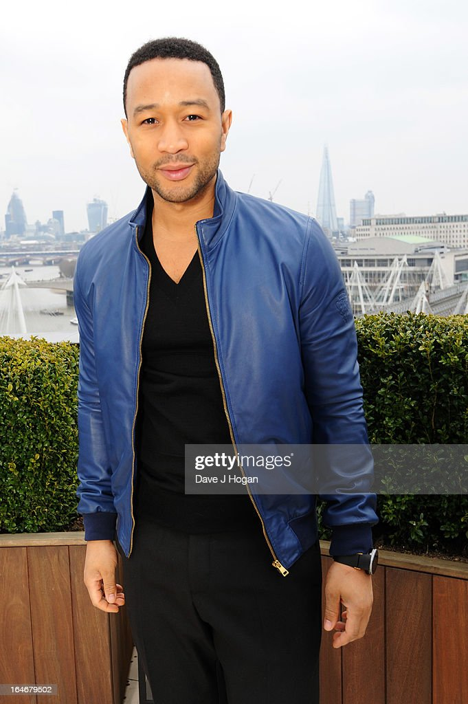 John Legend attends a photo call to launch 'The Sound Of Change Live' at the Corinthia Hotel on March 26, 2013 in London, United Kingdom. Chime For Change, a global campaign for girls' and women's empowerment founded by Gucci and with a founding committee comprised of Gucci Creative Director Frida Giannini, Salma Hayek Pinault and Beyonce Knowles-Carter, today announced a concert event at London's Twickenham Stadium on June 1 with Co-founder and Artistic Director, Beyonce as headliner. Also set to perform are Ellie Goulding, Florence and the Machine, HAIM, Iggy Azalea, John Legend, Laura Pausini, Rita Ora, Timbaland and more to be announced.