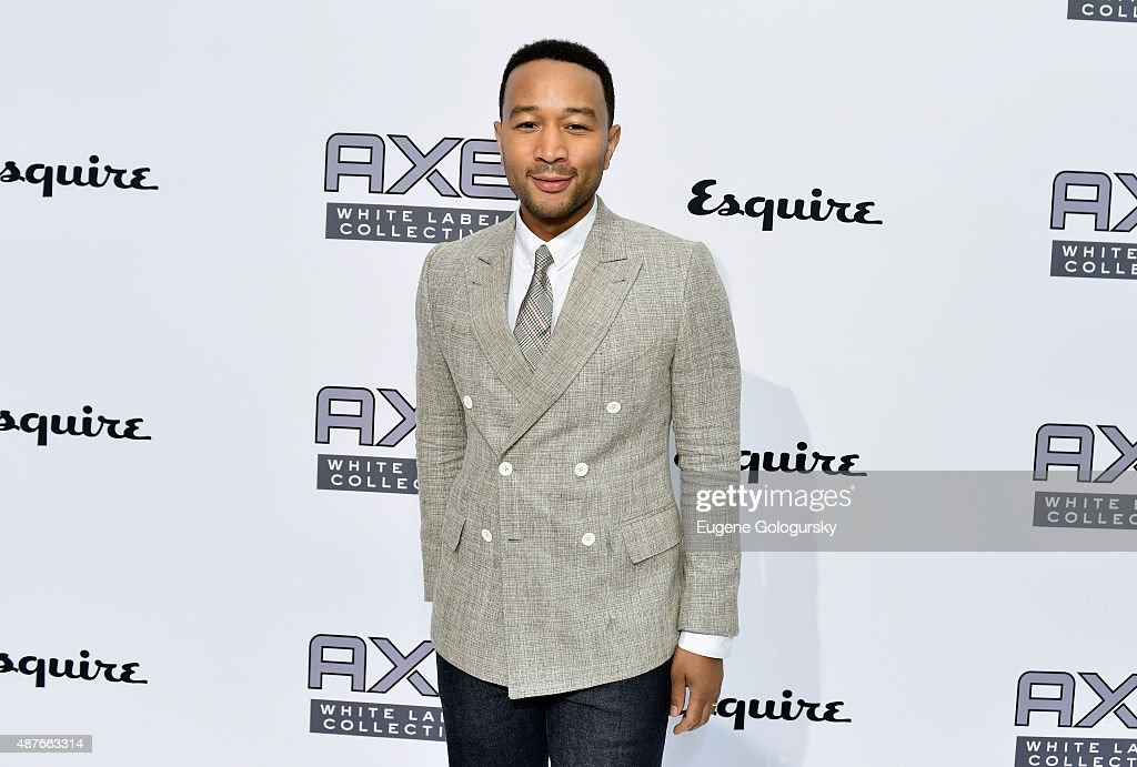 <a gi-track='captionPersonalityLinkClicked' href=/galleries/search?phrase=John+Legend&family=editorial&specificpeople=201468 ng-click='$event.stopPropagation()'>John Legend</a> attends as AXE and Esquire present the AXE White Label Collective during the opening night of New York Fashion Week on September 10, 2015 at Pop14 in New York City.