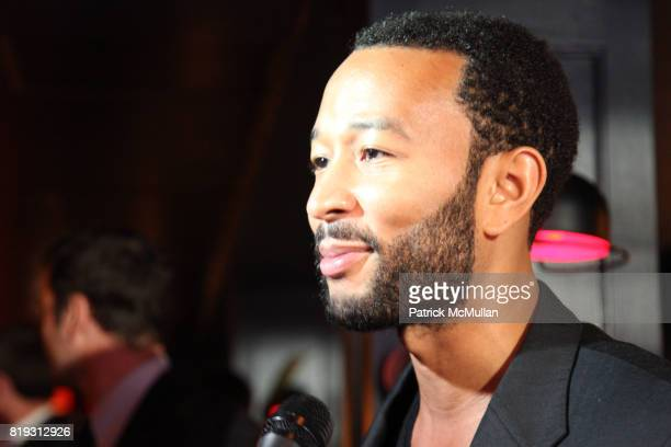 John Legend attends NFL and VERIZON Celebrate Draft Eve at Abe and Arthur's on April 21 2010 in New York City