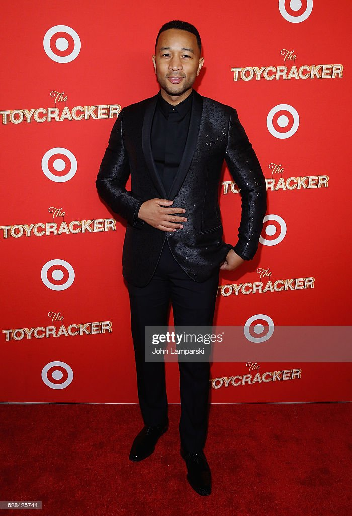 John Legend attends Target's Toycracker Premiere event at Spring Studios on December 7, 2016 in New York City.