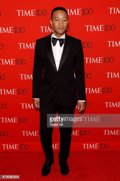 John Legend attends the 2017 Time 100 Gala at Jazz at Lincoln Center on April 25 2017 in New York City