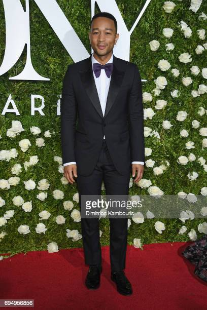 John Legend attends the 2017 Tony Awards at Radio City Music Hall on June 11 2017 in New York City