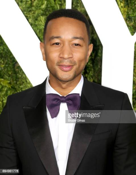 John Legend attends the 71st Annual Tony Awards at Radio City Music Hall on June 11 2017 in New York City