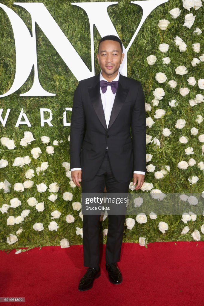 John Legend attends the 71st Annual Tony Awards at Radio City Music Hall on June 11, 2017 in New York City.