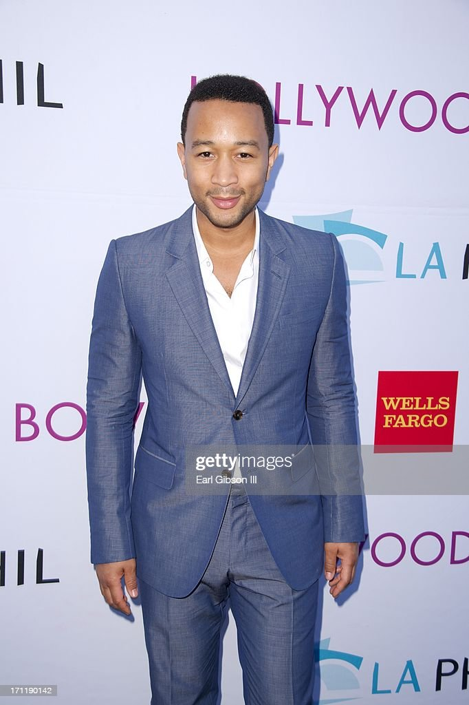 <a gi-track='captionPersonalityLinkClicked' href=/galleries/search?phrase=John+Legend&family=editorial&specificpeople=201468 ng-click='$event.stopPropagation()'>John Legend</a> attends the Hollywood Bowl Hall Of Fame Opening Night at The Hollywood Bowl on June 22, 2013 in Los Angeles, California.