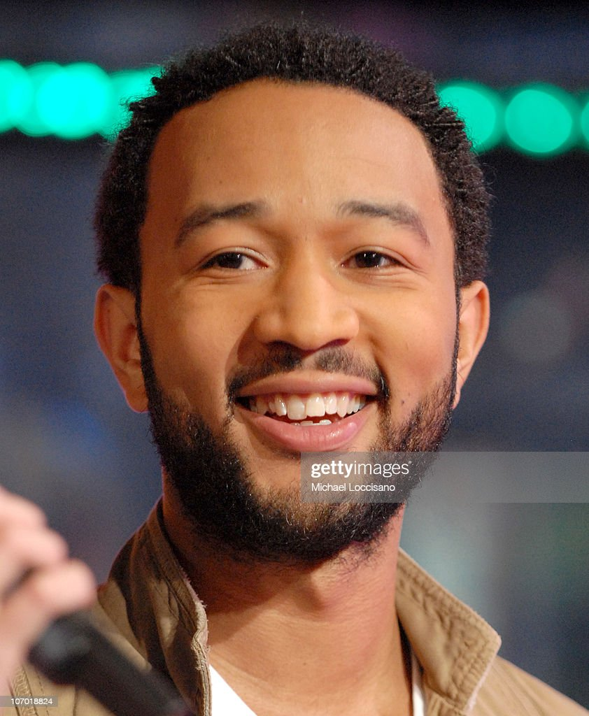 <a gi-track='captionPersonalityLinkClicked' href=/galleries/search?phrase=John+Legend&family=editorial&specificpeople=201468 ng-click='$event.stopPropagation()'>John Legend</a> during Miley Cyrus and <a gi-track='captionPersonalityLinkClicked' href=/galleries/search?phrase=John+Legend&family=editorial&specificpeople=201468 ng-click='$event.stopPropagation()'>John Legend</a> Visit MTV's 'TRL' - October 23, 2006 at MTV Studios - Times Square in New York City, New York, United States.