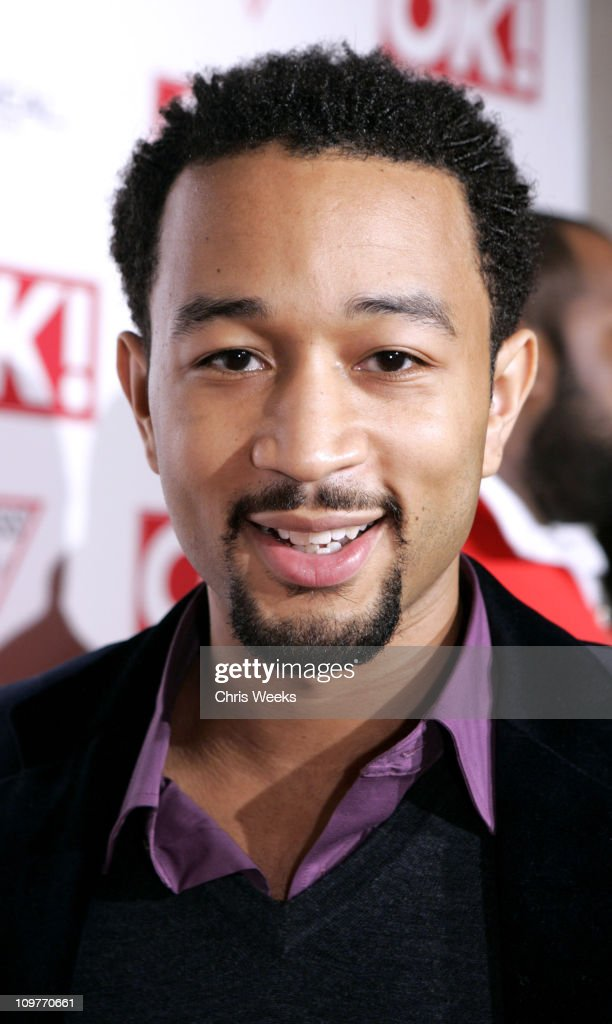 John Legend during Ok! Magazine US Debut Launch Party at LAX in Los Angeles, California, United States.