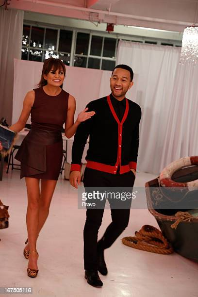ROBLE CO 'John Legend Event' Pictured Chrissy Teigen musician John Legend