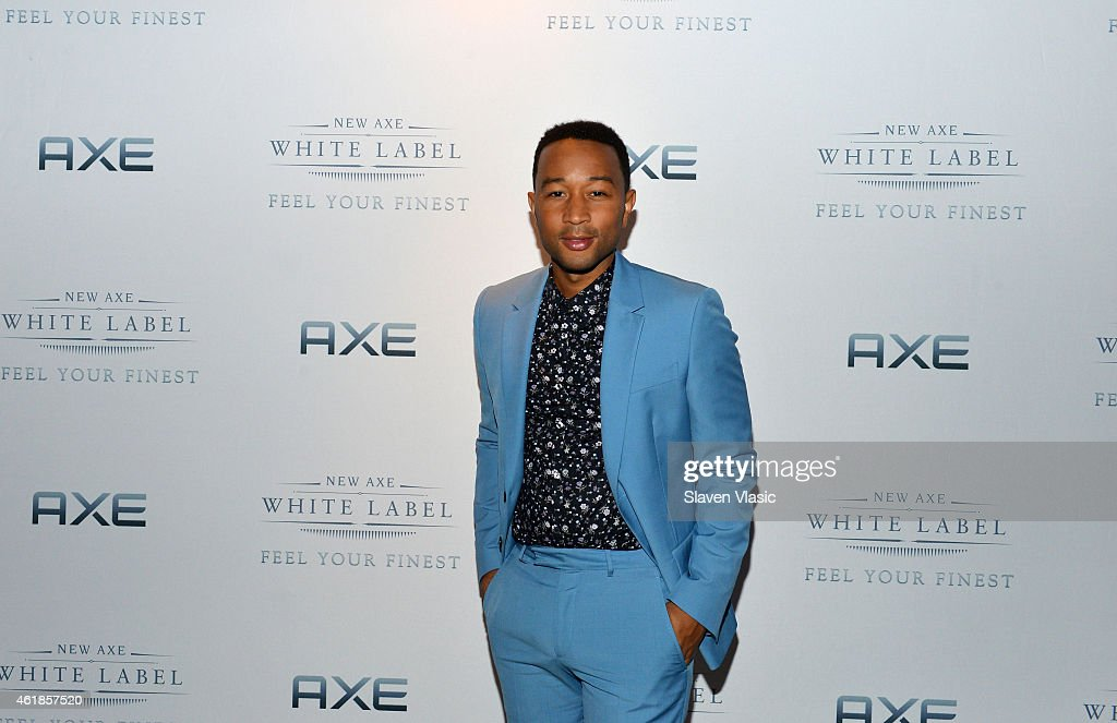John Legend joins AXE for the launch of new AXE White Label at Harlem Stage on January 8, 2015 in New York City.