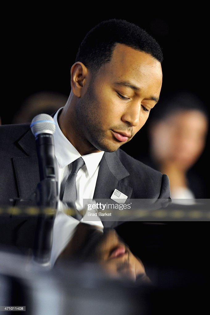 John Legend performs at 'An Evening With John Legend ' hosted by ...