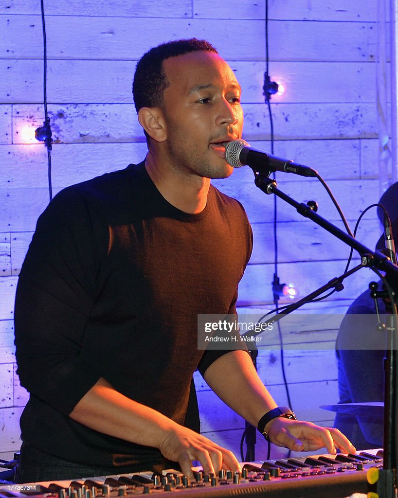 <a gi-track='captionPersonalityLinkClicked' href=/galleries/search?phrase=John+Legend&family=editorial&specificpeople=201468 ng-click='$event.stopPropagation()'>John Legend</a> performs at Soho House New York's 10th birthday celebration with a live performance by Mumford and Sons on the roof top at Soho House on August 22, 2013 in New York City.