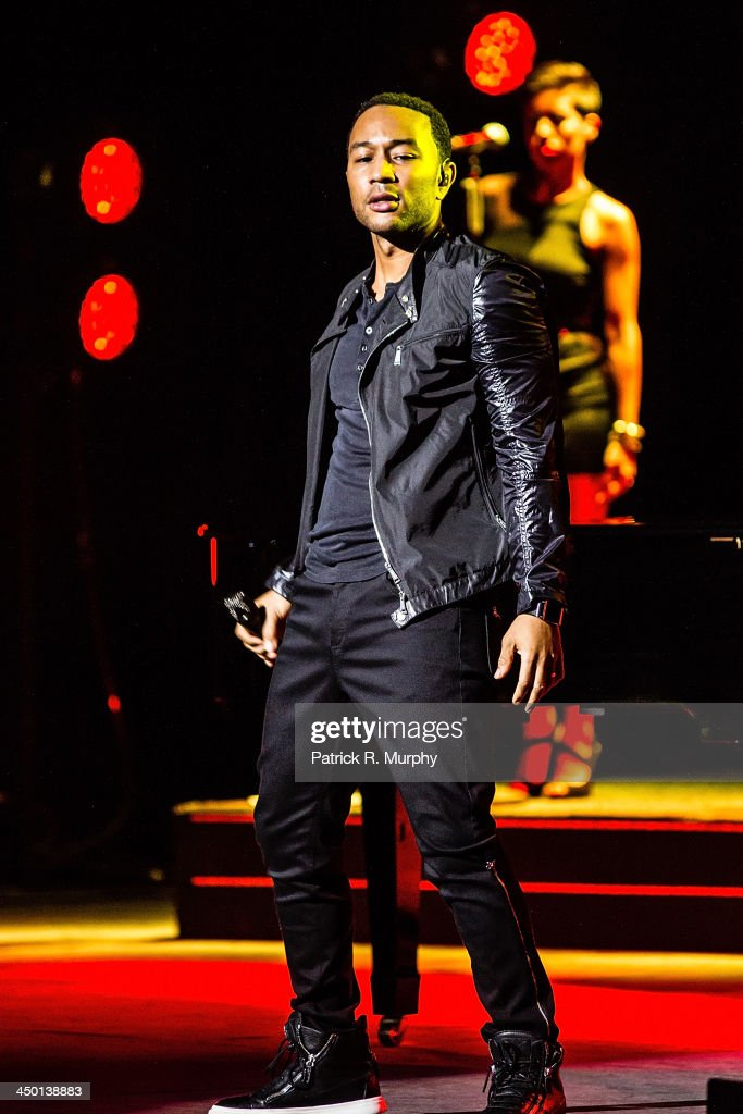 John Legend performs at State Theatre on November 16, 2013 in Cleveland, Ohio.