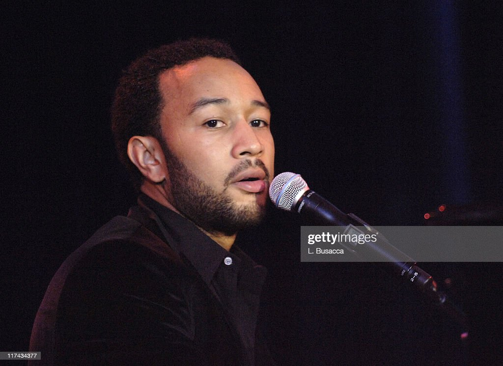 John Legend performs at the T.J. Martell Foundation's 31st Annual Awards gala at the Marriott Marquis in New York City