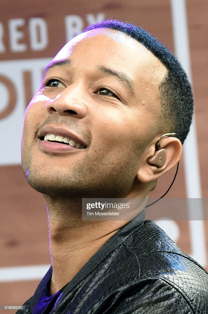 John Legend performs during AXE & SPIN's SXSW showcase at The Belmont on March 17, 2016 in Austin, Texas.