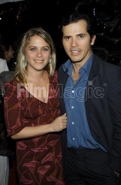 John Leguizamo and wife Justine Maurer during ...