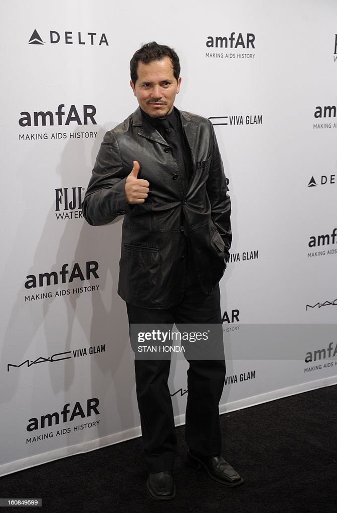 John Leguizamo arrives at the amfAR (The Foundation for AIDS Research) gala that kicks off the Mercedes-Benz Fashion Week February 6, 2013 in New York. AFP PHOTO/Stan HONDA