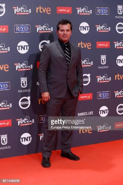 John Leguizamo attends Platino Awards 2017 at La Caja Magica on July 22 2017 in Madrid Spain