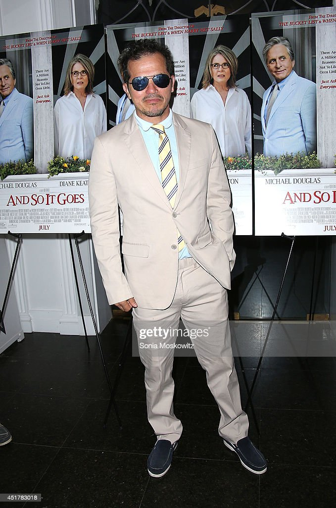 <a gi-track='captionPersonalityLinkClicked' href=/galleries/search?phrase=John+Leguizamo&family=editorial&specificpeople=167163 ng-click='$event.stopPropagation()'>John Leguizamo</a> attends the 'And So It Goes' premiere at Guild Hall on July 6, 2014 in East Hampton, New York.