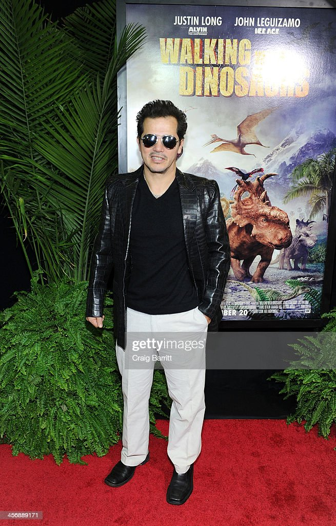 <a gi-track='captionPersonalityLinkClicked' href=/galleries/search?phrase=John+Leguizamo&family=editorial&specificpeople=167163 ng-click='$event.stopPropagation()'>John Leguizamo</a> attends the 'Walking With Dinosaurs' screening at Cinema 1, 2 & 3 on December 15, 2013 in New York City.