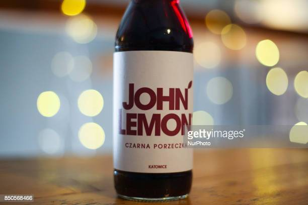 John Lemon line of lemonades produced by a Polish beverage company Krakow Poland on September 18 2017 The company has agreed to change its name to On...