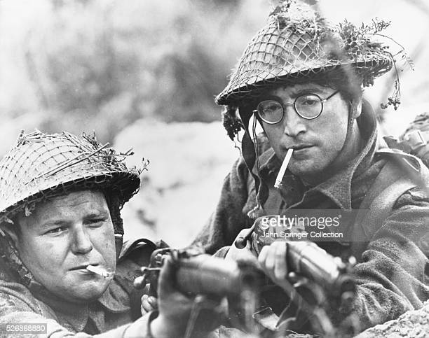 John Lennon as British soldier Gripweed in the 1967 film How I Won the War