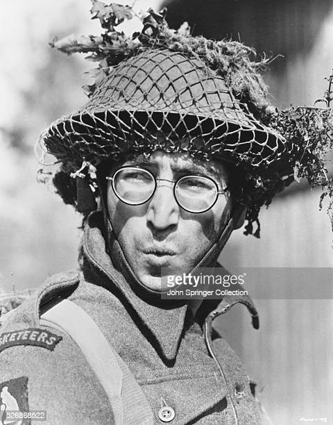 John Lennon plays British soldier Gripweed in the 1967 film How I Won the War